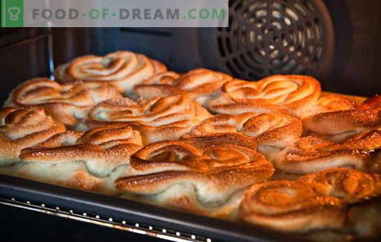 Bolos com açúcar - os pães mais simples e favoritos! Melhores receitas: delicie-se com pães perfumados com açúcar, como Carlson?