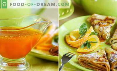 Sos de portocale - cele mai bune rețete. Cum să gătești sos de portocale.