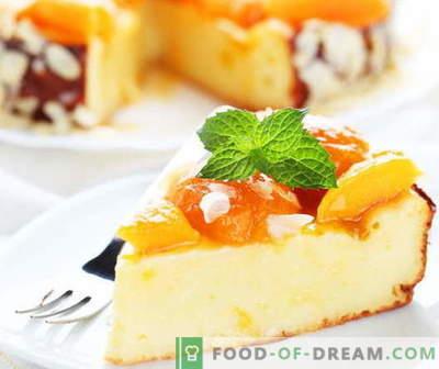 Caçarola de Cheesecake - as melhores receitas. Como corretamente e saboroso cozinhar caçarola de queijo cottage.