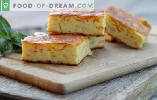 Caçarola de cenoura com requeijão - uma sobremesa útil e fácil de preparar. As melhores receitas para uma caçarola de cenoura coalhada suave