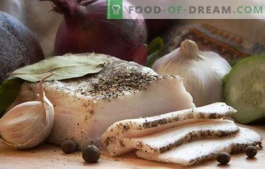 Lardo con aglio è un piatto democratico per tutti i gusti. Una raccolta di ricette di pancetta con aglio gourmet