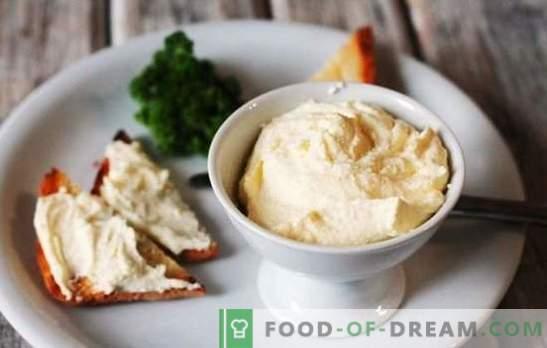 Filadélfia em casa: a receita de um produto popular. Opções para fazer queijo Philadelphia em casa