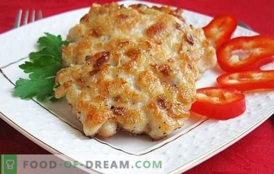 Costeletas de peito de frango: como cozinhar? Nos dias de semana e feriados: receitas inusitadas para costeletas de peito de frango