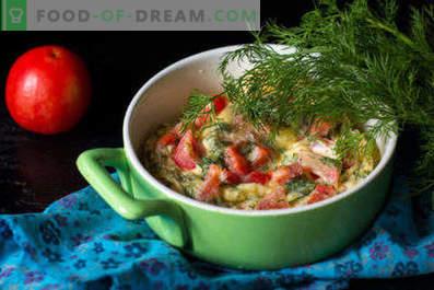 Omelete no microondas