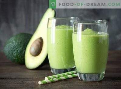 Batidos de abacate