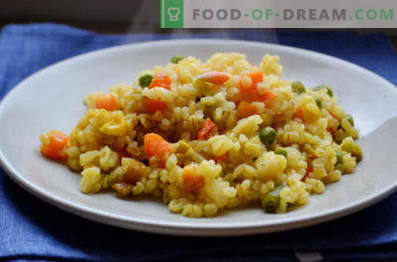 Bulgur com legumes