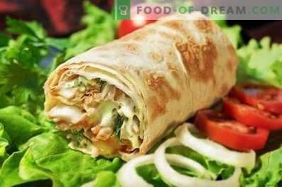shawarma de porco