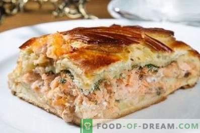 Torta de salmão