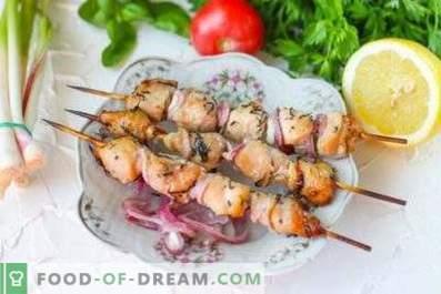 Marinada para kebab de frango