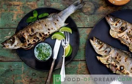 Como estragar o peixe grelhado: principais erros