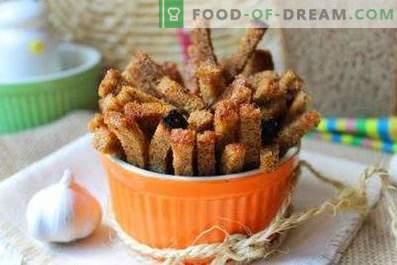 Biscoitos de alho