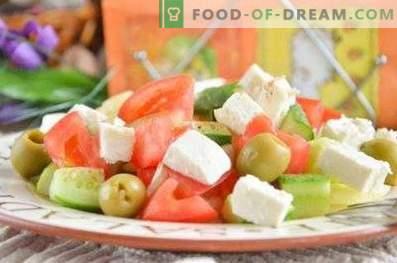 Comment faire une salade grecque