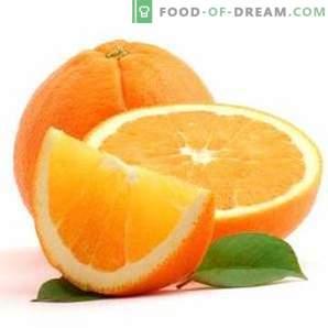 calories orange