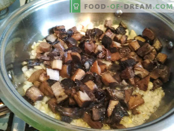 Recipe for breeze with mushrooms and chicken: a dish of French cuisine, cooking recipe with photo