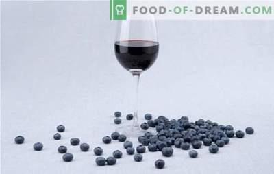 Características da preparação do mosto de vinho de mirtilo. Receitas simples de vinhos tradicionais de mirtilo para vinificação em casa